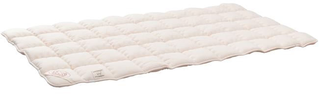 Comfort-Schurwollauflage Schafwolle