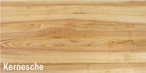 Erhältlich in der Holzart Kernesche