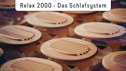 RELAX 2000 - Das Schlafsystem