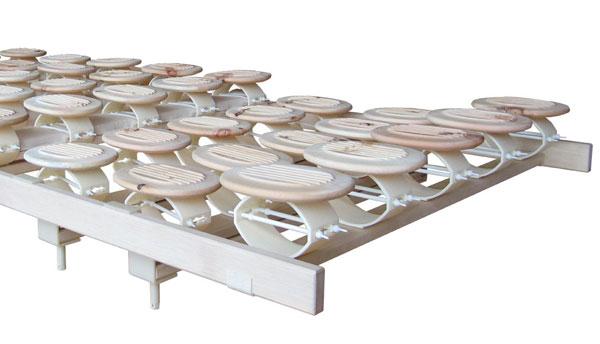 Das Relax 2000 Schlafsystem mit Komfort-Schulterzone bietet eine zusätzliche Einsinktiefe von 50 mm.