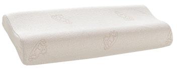 Ein Form-Latex Kern bildet die Füllung. Oberstoff aus Baumwollgewebe.