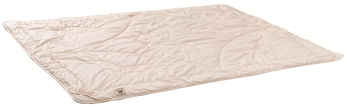 The outer fabric of this duvets is cotton, the filling consists of 100 % Tussah silk.
