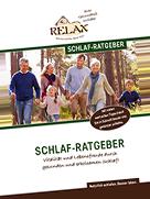 Fordern Sie hier den RELAX Schlafratgeber kostenfrei an.