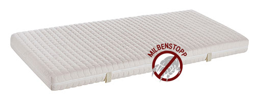 This is a novel mattress material with an antibacterial silver part that increases overall sleeping comfort at night.