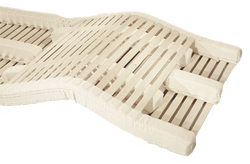 The spring elements of the bed system Naturflex makes you sleep better due to its perfect adaptation.